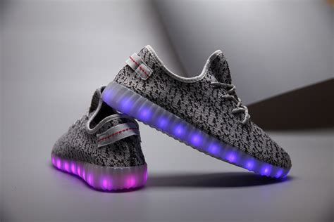 Adidas Yeezy Led Shoes big adidas trainers cheap sale rechargeable light