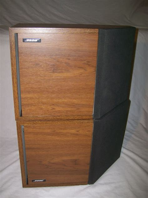 vintage bose 2 2 bookshelf reflecting speakers pair