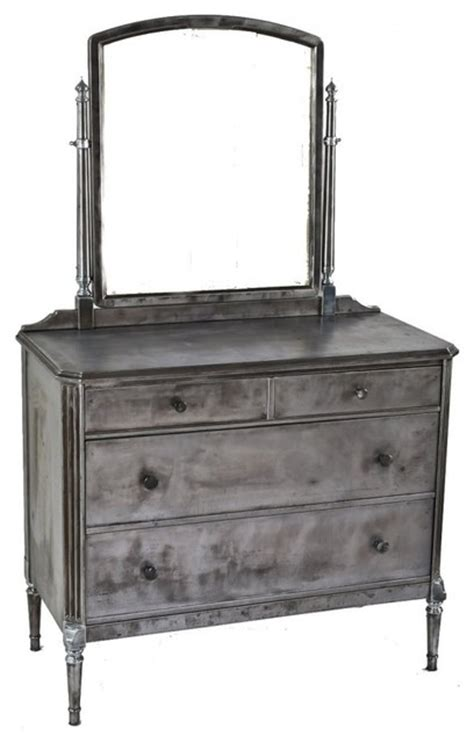 metal dressers bedroom furniture simmon s vintage metal furniture industrial chicago