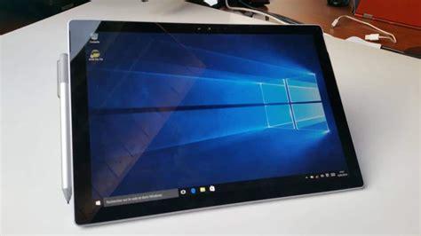 Microsoft Surface Windows 10 test microsoft surface pro 4 la meilleure des tablettes