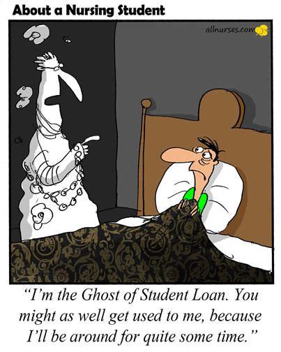 nursing school debt student loans are haunting me allnurses