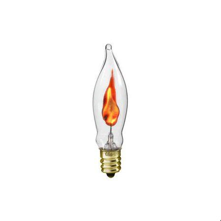 flickering light bulbs walmart pack of 2 clear flicker candle l replacement