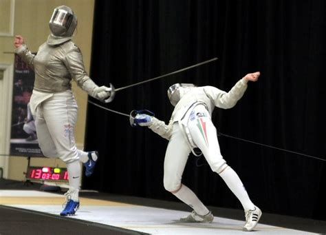 photo of the day funky sabre fencing fencing net fencing net