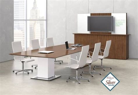 conference table with power sit to stand conference table with height adjustable