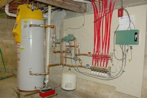radiant heat water heater or boiler heating boiler radiant heating boiler systems