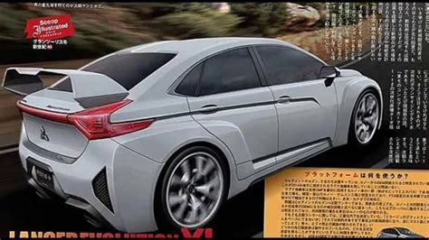 New 2017 Mitsubishi Lancer Evo Youtube