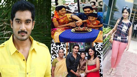 karthika deepam serial heroine photos videos karthika deepam serial hero nirupam real life family