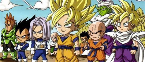 dragon ball z chibi wallpaper dragon ball z chibi taringa