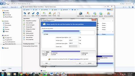 Berapa Micro Sd 8gb partisi tambahan dengan link2sd dan easuse partition hanya berbagi inspirasi