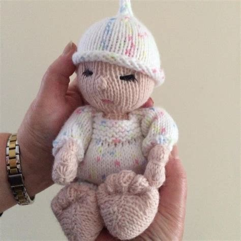 baby crib pattern baby doll in crib knitting pattern by gypsycream