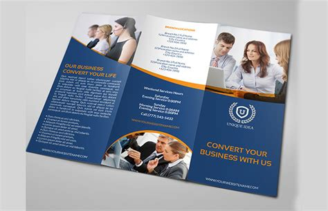 business brochures templates 30 psd company brochure templates designs free