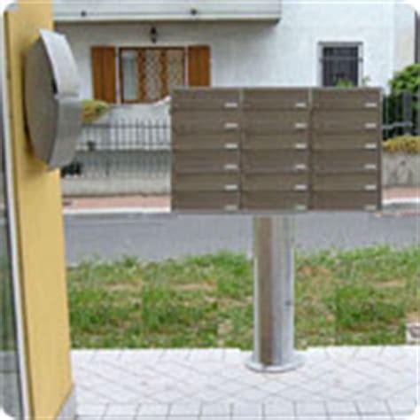 cassette della posta esterne casellari postali per esterni dolci luigi snc