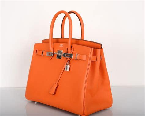 Classic Bag Hermes Birkin by Hermes Birkin Bag Orange Classic Gorgeous Epsom Leather