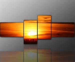 wandbilder wohnzimmer modern designbilder wandbild modernes bild sonne afrika