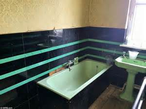 The house even boasts the original bathroom which was installed when