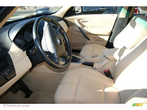 2005 Bmw X3 Interior by Sand Beige Interior 2005 Bmw X3 2 5i Photo 40728310
