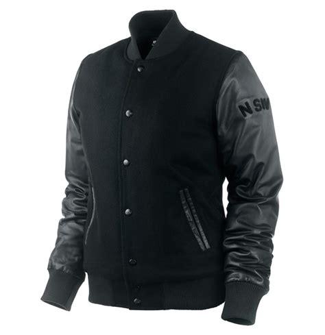 Jaket Varsity Black Nike nike sportswear 2009 fall stadium varsity jacket hypebeast