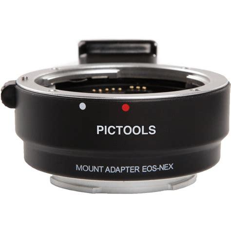 Tp01 Lens Adapter Lensa Canon Ef To Sony E Mount Eos Nex pictools canon ef ef s lens to sony e mount af ptef se af