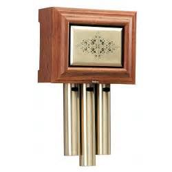 Front Door Chimes Nutone La305wl Traditional Wired Musical Door Chime In Walnut