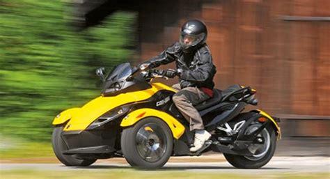 Dreirad Motorrad Can Am dreirad can am spyder tourenfahrer online