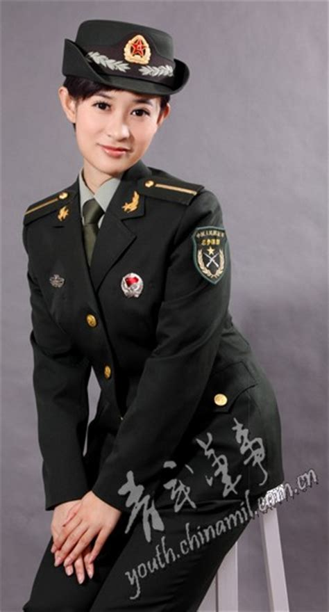 chinese military uniform girl the uniform girls pic china military uniform girls 004