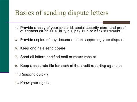 Sle Dispute Letter Tax Lien Understanding Your Credit Report And Score