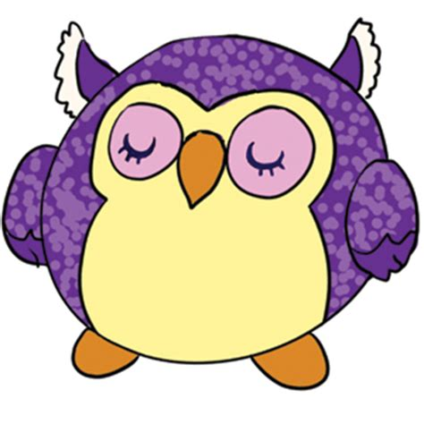 Squishy Owl Slowres squishable sleepy owl an adorable fuzzy plush to snurfle and squeeze
