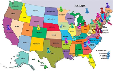 map of new states and canada litchfield jazz festival jazz c our reach