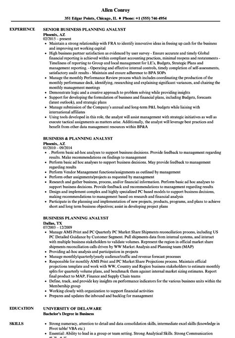 stunning sle business analyst resume business planning analyst description 28 images business planning analyst