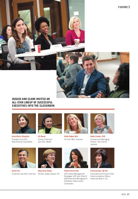 Olin Mba Focus by Olin Business School Magazine 2015