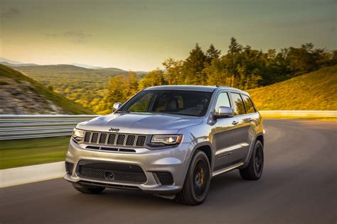 jeep grand cherokee 2018 2018 jeep grand cherokee trackhawk first drive the most