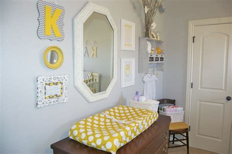 yellow and gray baby room baby gray and yellow nursery project nursery