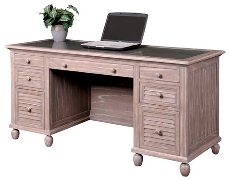 coastal style desks all topic tortuga executive desk style desks and hutches by sea winds