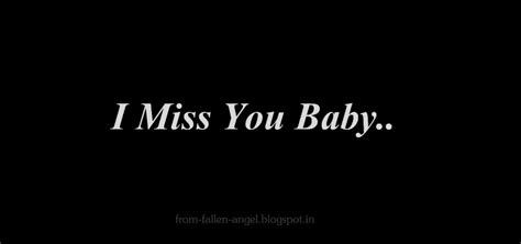 i miss you baby images fallen angel i miss you baby