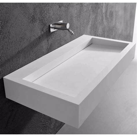 lavabo in corian antonio lupi slot lavabo rettangolare in corian tattahome