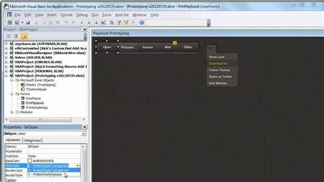 userform layout event vba secret techniques in vba userform design youtube