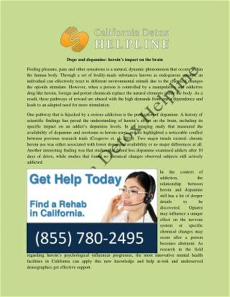 Heroin Detox California by Ppt Rehab How To Make An Informed Decision
