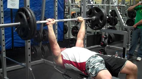 brock lesnar max bench press in between bench press reps youtube