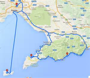Map Of Italy Amalfi Coast by Amalfi Coast Tours Italy Vacation Packages Olde