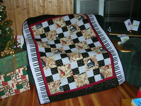 Theme Quilt by Musical Theme Quilt