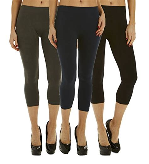 3 Pack Legging by 3 Pack S Length Legging Tights Fashion