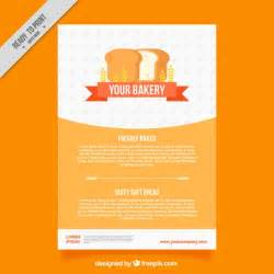bakery brochure template bakery brochure template with loaf vector free