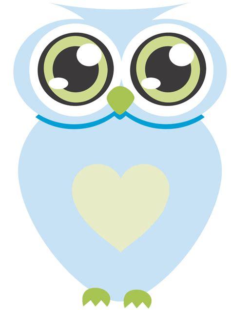 Owl 3d Stickers blue owl sticker clipart best