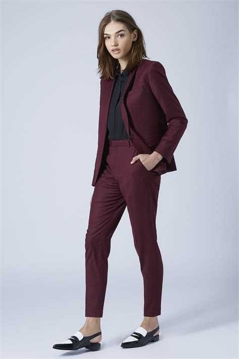 premium oxblood suit trousers trousers clothing