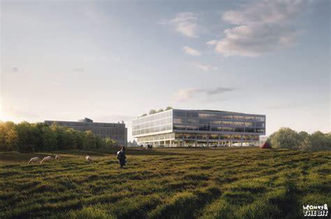 life sciences building   university  lausanne