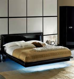 Platform Bed With Lights La Platform Bed With Lights Black