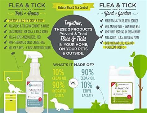 natural flea  tick yard spray kill control