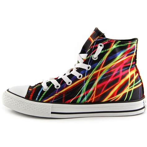 multi colored converse converse converse chuck hi youth canvas multi color