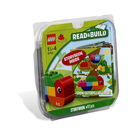 Buku Manual Lego Duplo Grow Caterpillar Grow lego grow caterpillar grow set 6758 brick owl lego marketplace