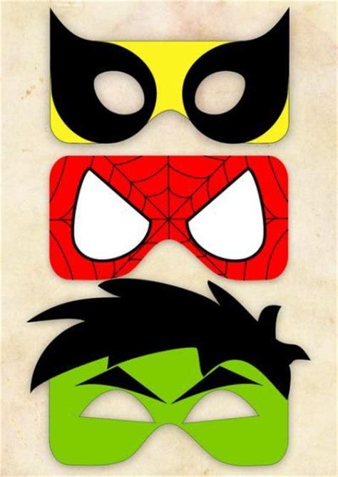 printable heroes mask free printable superhero masks hulk pinterest